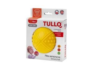 553c0191666065 Piszcząca piłka z różnymi fakturami TULLO